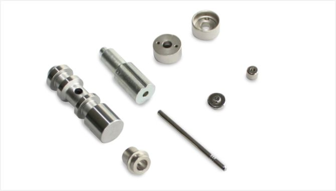 Automobile precision turned parts (for ABS brake components)