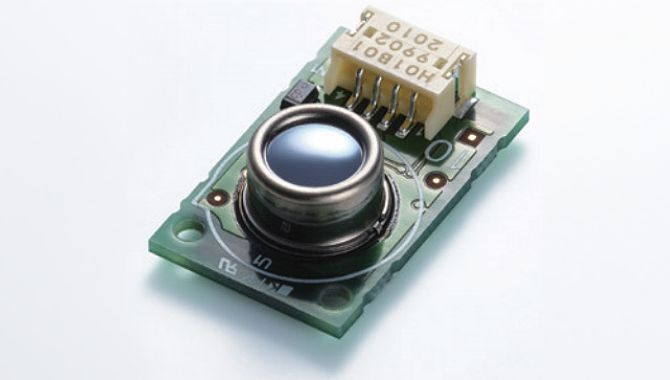 Infrared array sensor modules for contactless thermometers