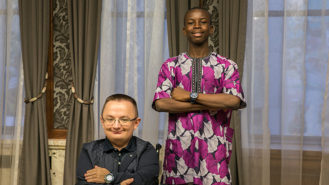 Minister of Education Awardees, Ilia and Victor