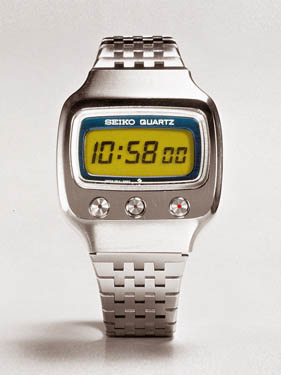 6-digit LCD watch.