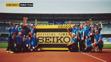 SEIKO企業CF「SEIKO TIMING TEAM」