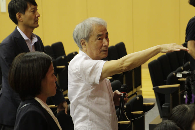 "Kazuichiro Ikeda, member of the Executive committee of ""Sound of 'Wa' Concert to Support Eastern Japan in a Spirit of Harmony"""